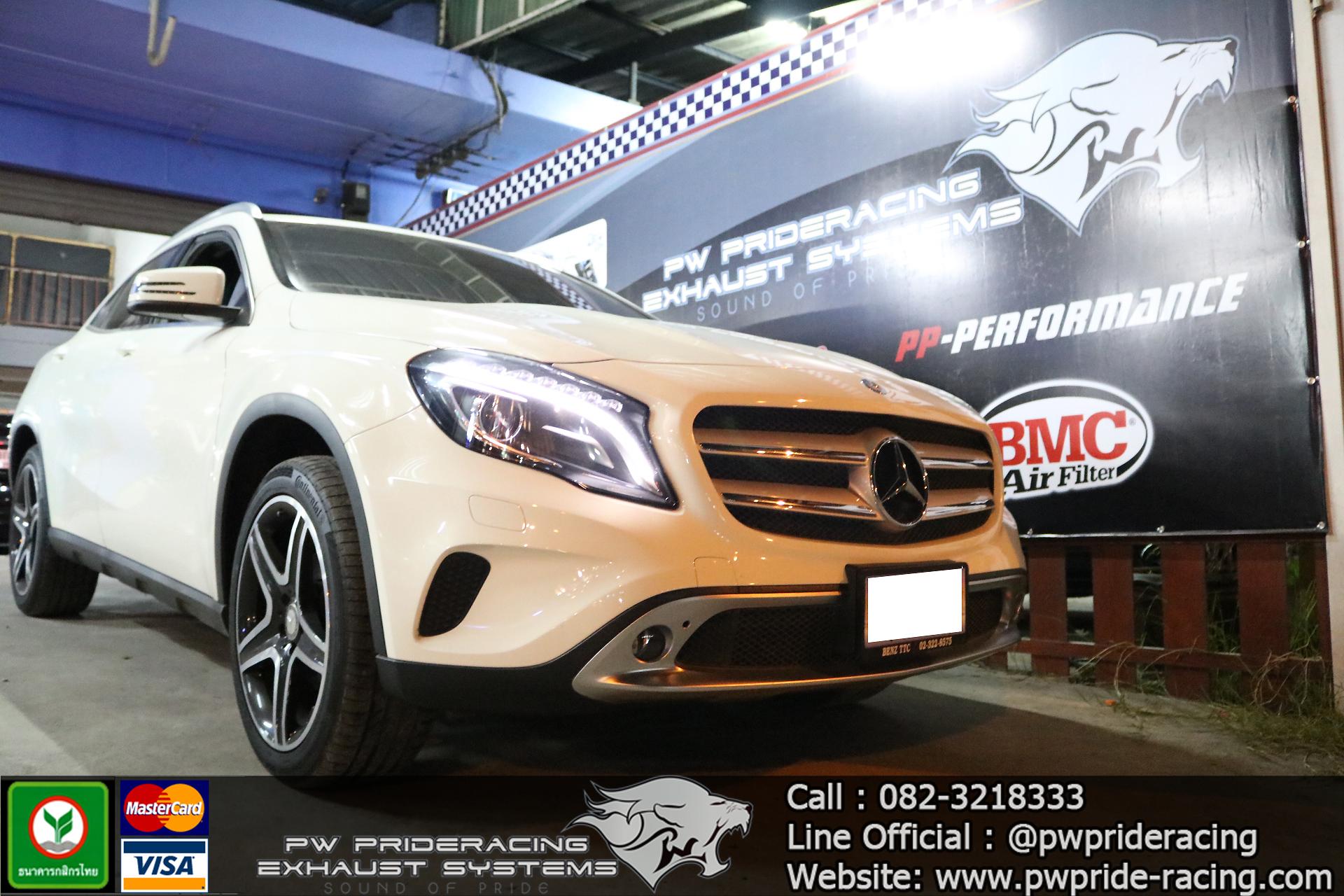 ชุดท่อไอเสีย Benz GLA200 Valvetronic Exhaust System by PW PrideRacing