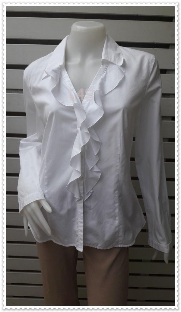 เสื้อแฟชั่น นำเข้า สีขาว TALBOTS อก 38 นิ้ว