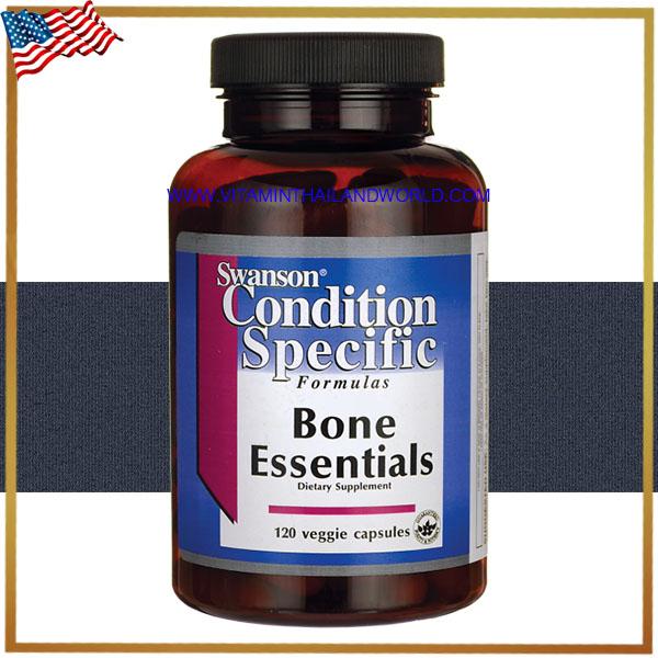 Swanson Vitamins - Bone Essentials 120 Capsules