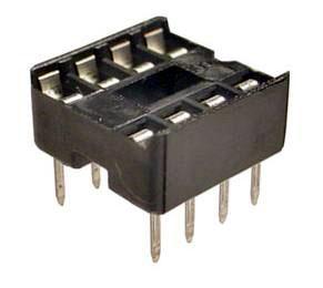 ซ็อกเก็ต socket 8 Pin DIP SIP DIP-8 IC Sockets Adaptor