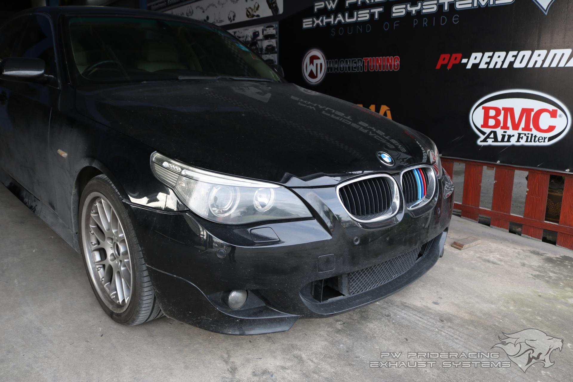 ชุดท่อไอเสีย BMW E60 525i by PW PrideRacing