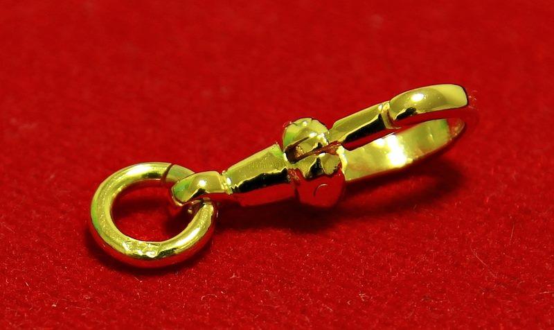 สปริงก้ามปูทองคำ 37.5% แบบไม่หมุน ขนาด 1.80 ซม