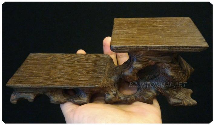 กี๋หรือฐานไม้ (รากไม้ ) ยาว 18 cm.