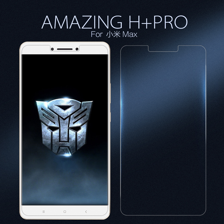 ฟิล์มกระจกนิรภัย Nillkin H+ Pro สำหรับ Xiaomi Mi Max 2 / Mi Max (ไม่เต็มจอ)