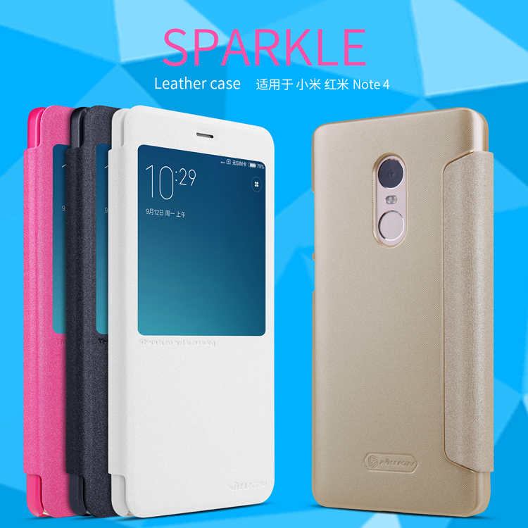 เคส Xiaomi Redmi Note 4 Nillkin Sparkle Leather Case