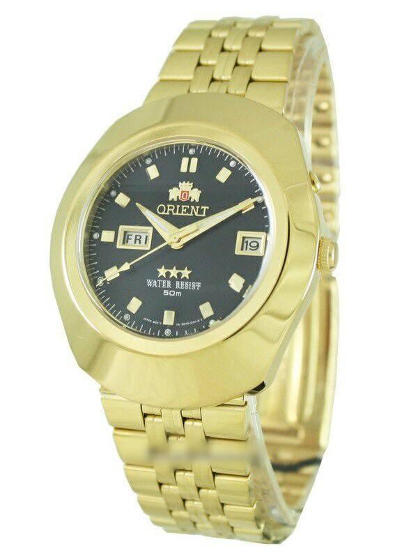 นาฬิกาผู้ชาย Orient รุ่น EM70001B, Orient 3 Stars