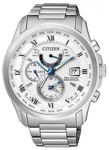 นาฬิกาข้อมือผู้ชาย Citizen Eco-Drive รุ่น AT9080-57A, Global Radio Controlled AT Sapphire Perpetual