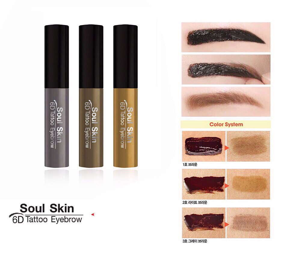 Soul Skin 6D Tattoo Eyebrown