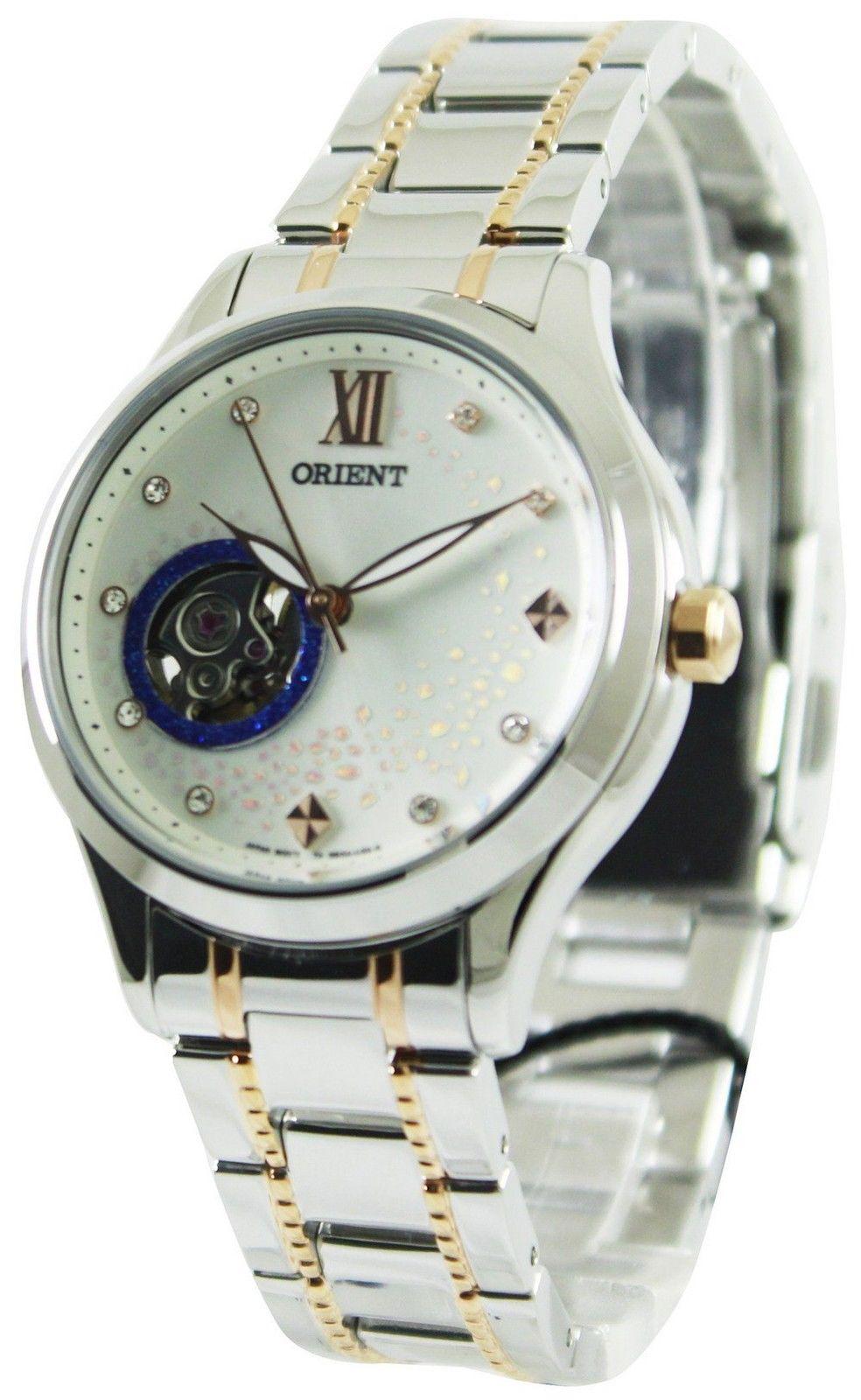นาฬิกาผู้หญิง Orient รุ่น FDDB0A006W0, Blue Moon Open Heart