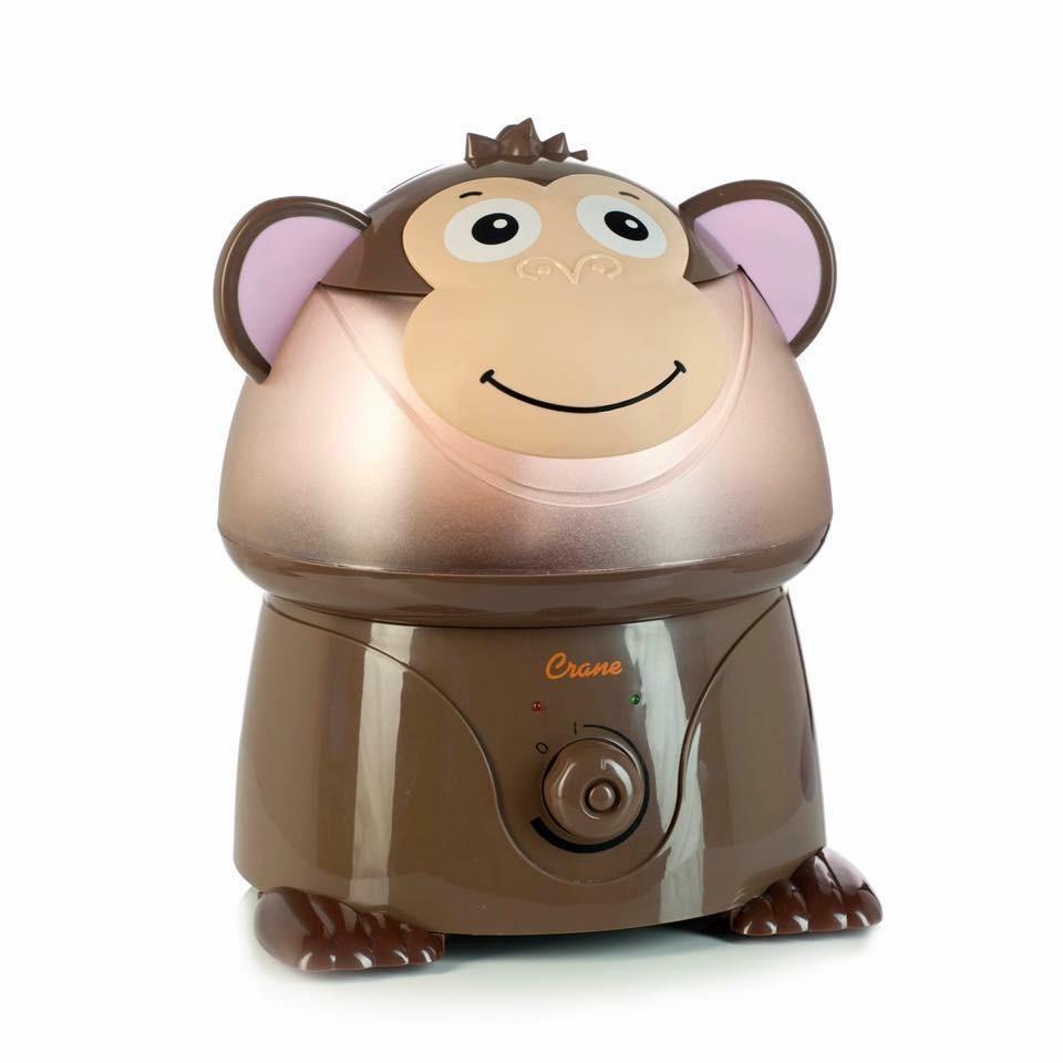 เครื่องสร้างความชื้นในอากาศ Crane USA รุ่น Adorable Ultrasonic Cool Mist Humidifier (Mya the Monkey)