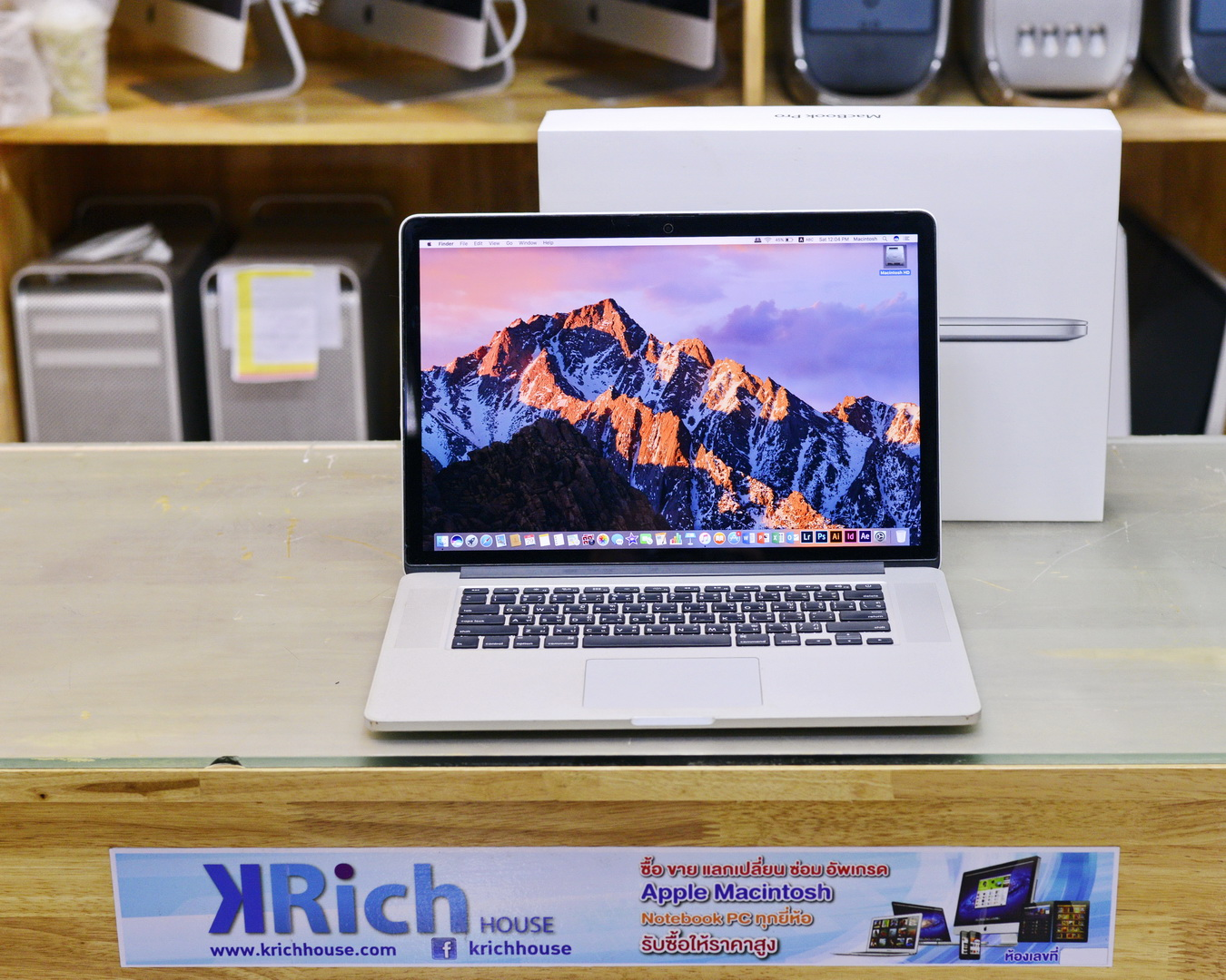 TOP MODEL - MacBook Pro (Retina, 15-inch, Early 2013) Quad-Core i7 2.7GHz RAM 16GB SSD 512GB Nvidia GeForce GT 650M 1GB - FullBox