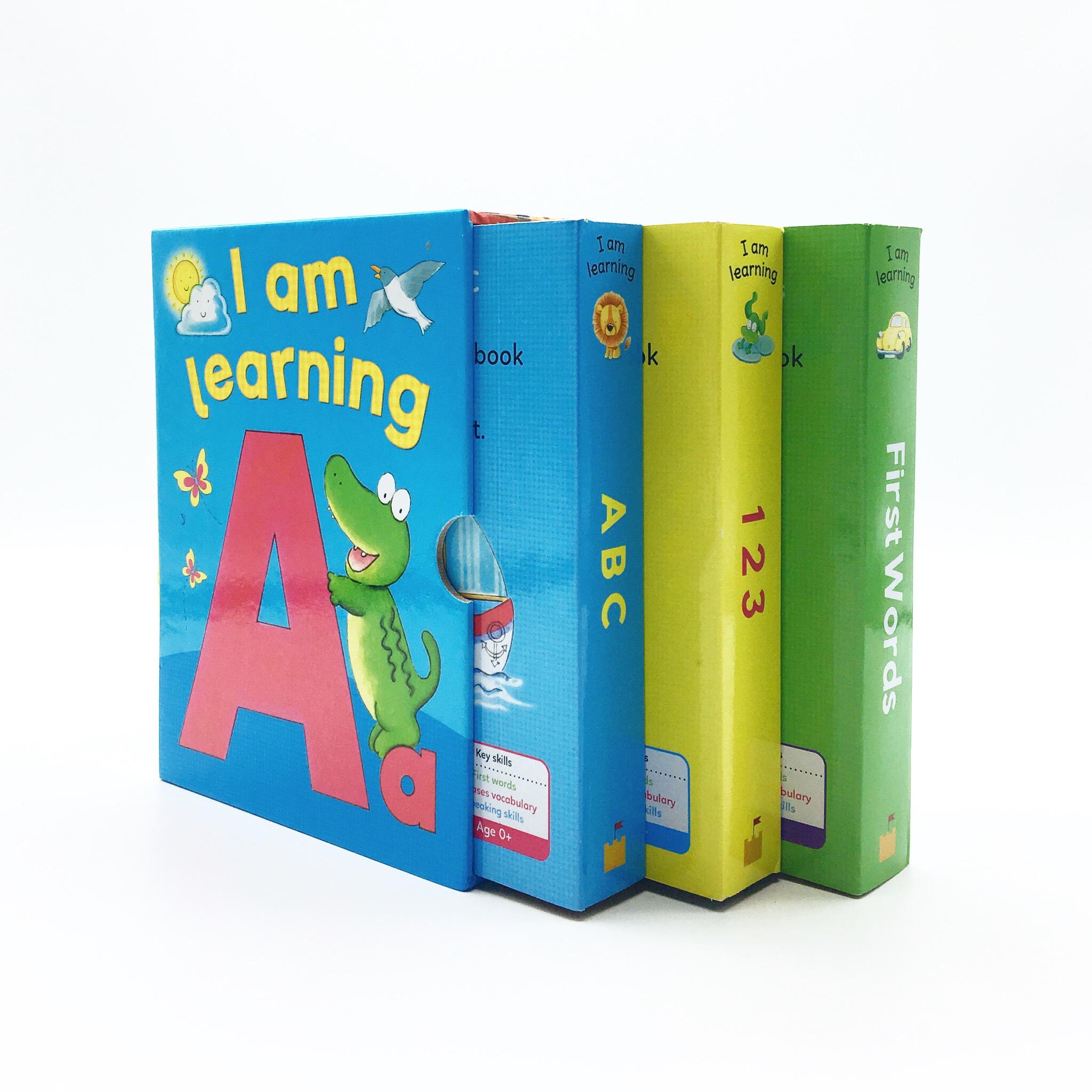 ชุดหนังสือเสริมทักษะปลอดสารพิษสำหรับเบบี๋ I am Learning : ABC, First Words, 123