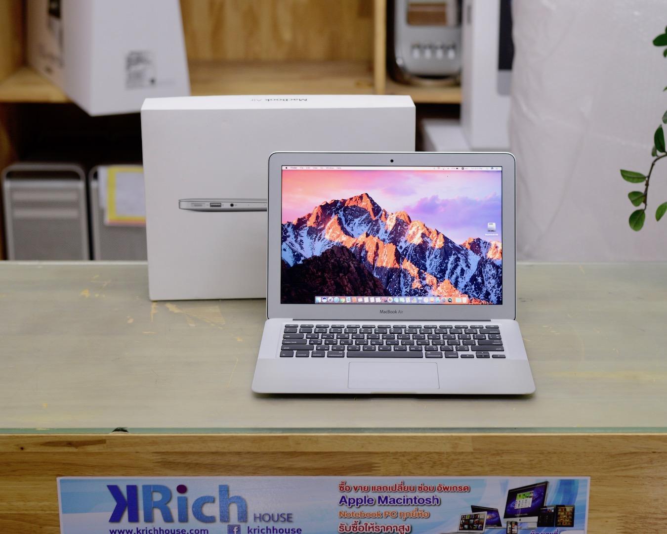 MacBook Air 13-inch CTO Mid2013 Core i7 1.7GHz RAM 8GB SSD 512GB FullBox