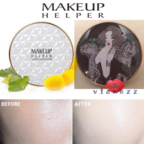(#22 ตลับลาย Girl Crush) Makeup Helper Double Cushion Calendula Blossom SPF50+ /PA+++ คูชั่น แป้งน้ำลุ๊คฉ่ำสาวเกาหลีค่ะ ไม่เหนอะ ไม่มันไม่เยิ้ม ทาปุ๊ปแห้งปั๊ป โดยไม่ต้องเติมแป้ง ปกปิดได้อย่างดีแม้แผลเป็นที่ชัดมากๆ ไม่อุดตัน มาพร้อมกันแดด 50เท่า ตลับใหญ