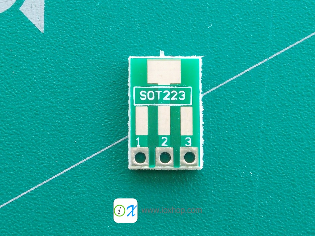 PCB Adapter SOT89 SOT223 to DIP