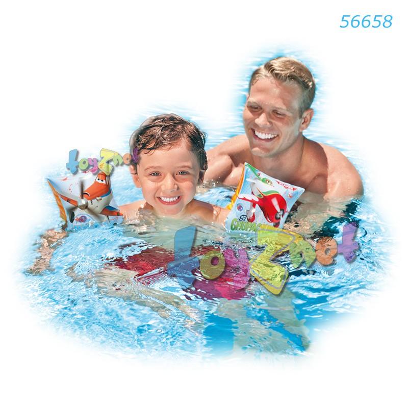 Intex ที่สวมแขนว่ายน้ำ เพลนส์ รุ่น 56658