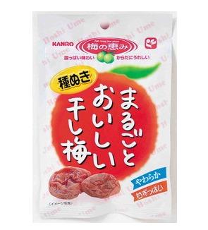 Marugoto บ๊วยแห้งไร้เมล็ด เนื้อนุ่ม อร่อย ทานแล้วสดชื่น จี๊ดจ๊าด