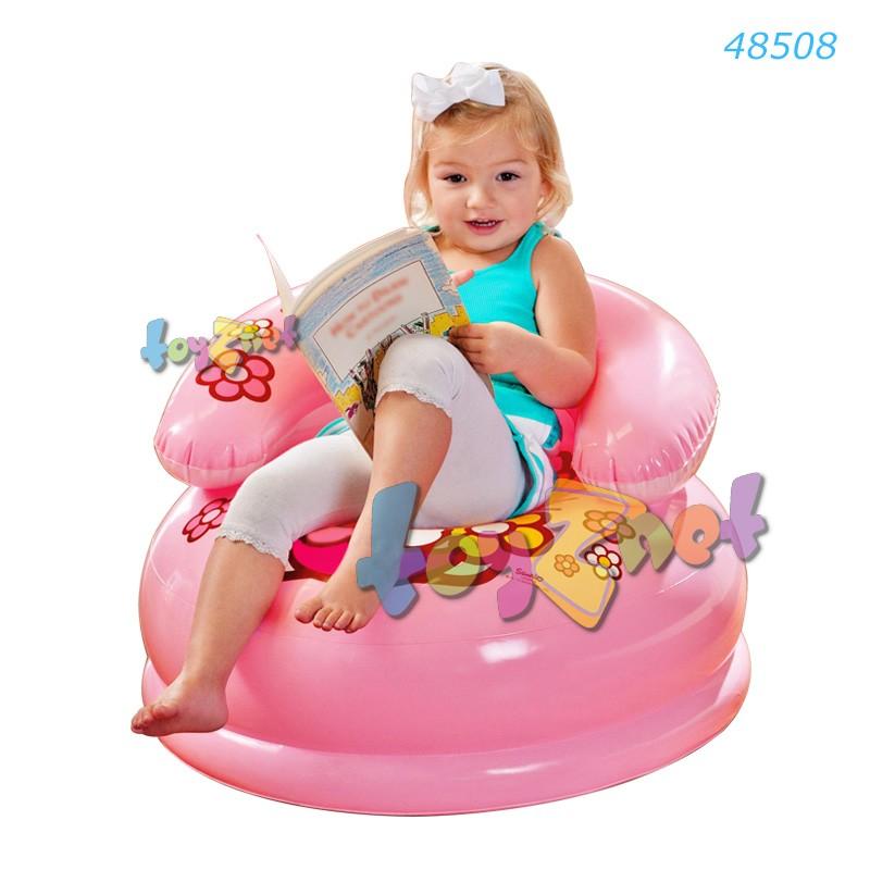 Intex เก้าอี้เด็กเป่าลม เฮลโล คิตตี้ รุ่น 48508