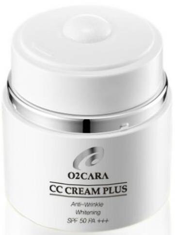O2CARA CC Cream Plus Anti-Wrinkle Whitening SPF50PA+++