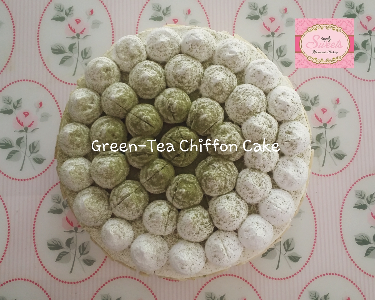 Muccha Green Tea Cake