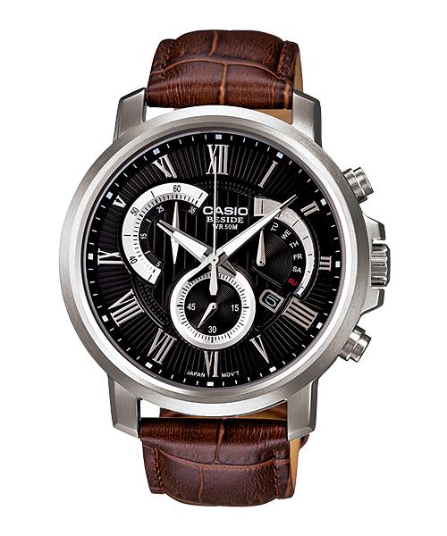 นาฬิกา คาสิโอ Casio BESIDE CHRONOGRAPH รุ่น BEM-506BL-1AV