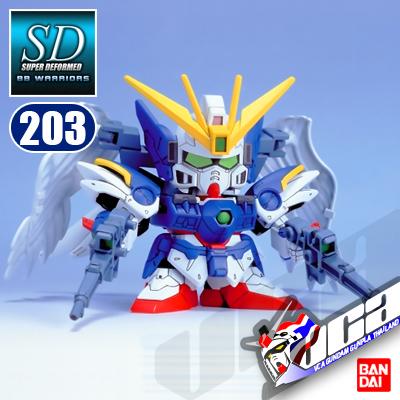 SD BB203 WING GUNDAM ZERO CUSTOM
