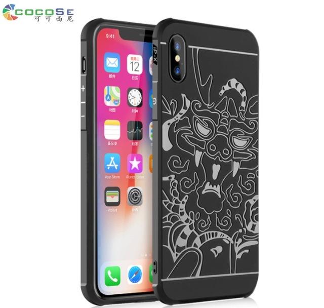 เคสซิลิโคนกันกระแทก COCOSE iPhone X