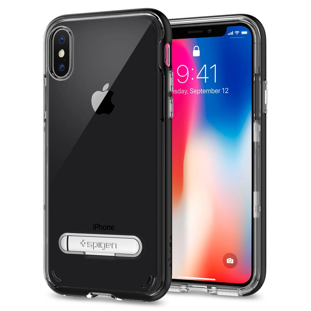 เคส SPIGEN Crystal Hybrid iPhone X