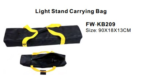 Batteries, Chargers, On-Camera Light Accessries, Cases & Bags FW-KB209