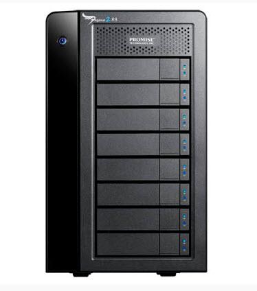Promise Pegasus2 R8 มีความจุ HDD 24TB และ 32TB ดูราคาด้านใน