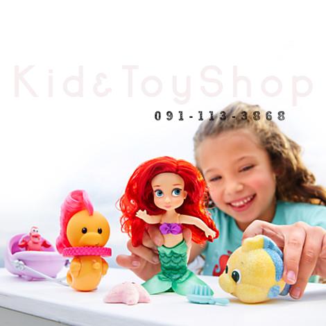 เซ็ทตุ๊กตา Disney Animators' Collection Ariel Mini Doll Play Set พร้อมอุปกรณ์