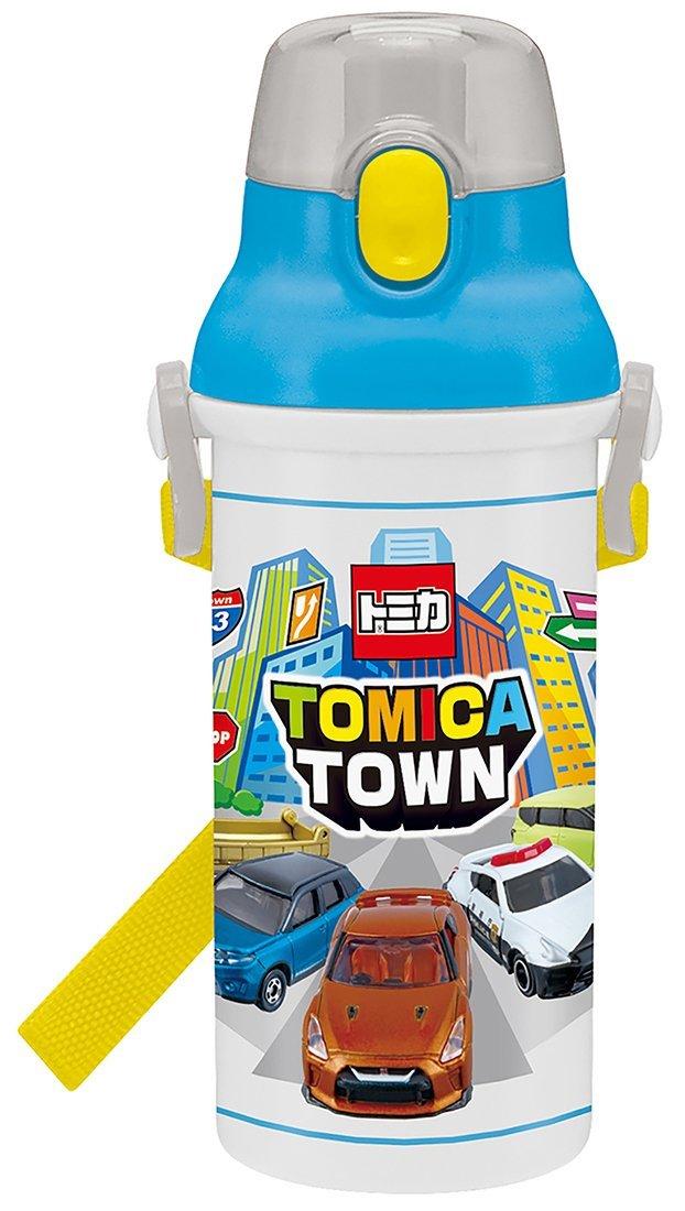 กระติกน้ำยกดื่มสำหรับเด็กลายรถ tomika [Japan]