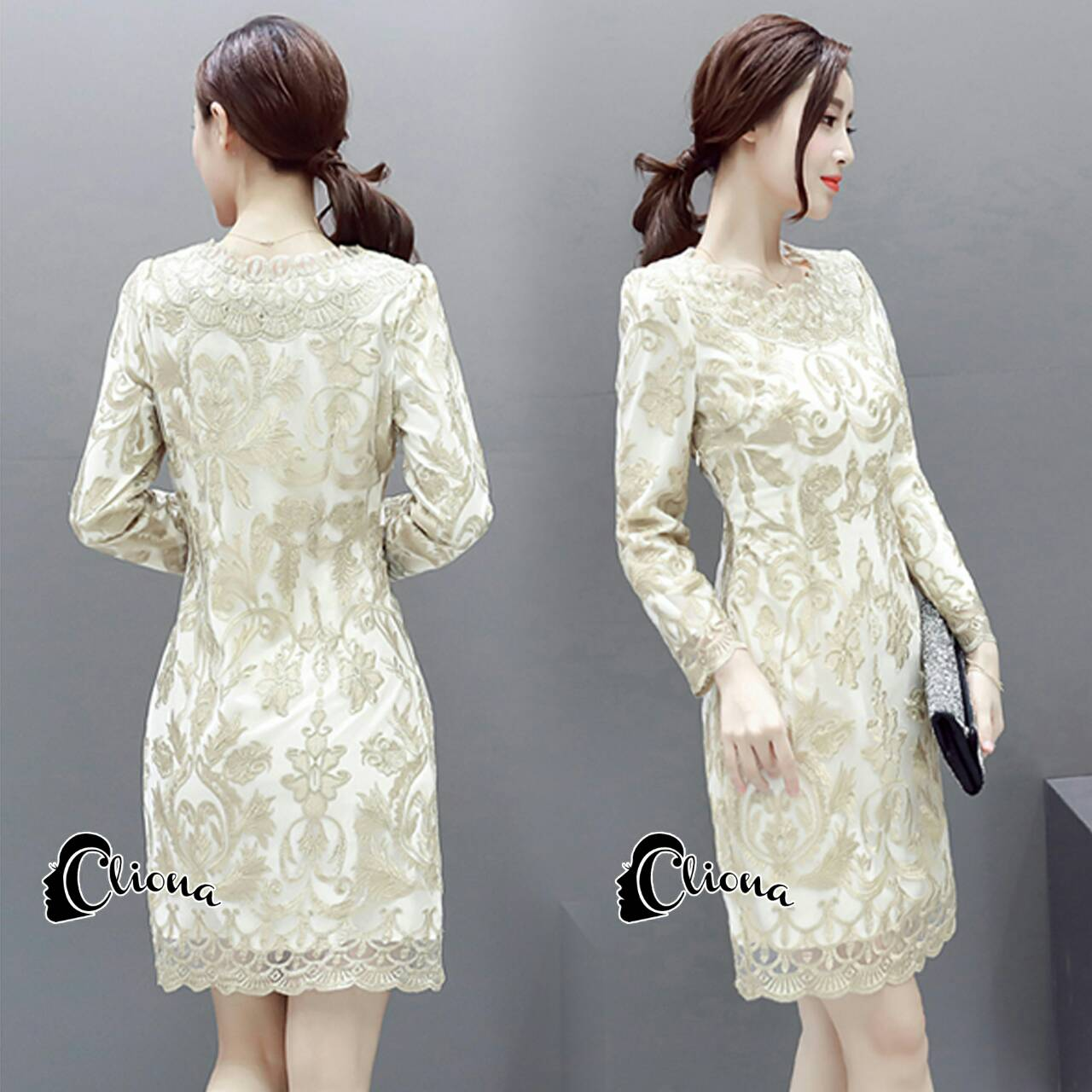 Golden Princess Luxury Dress -