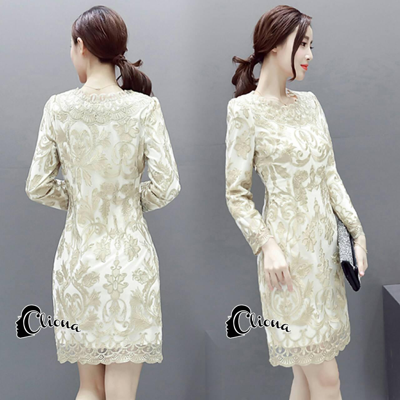 Golden Princess Luxury Dress -