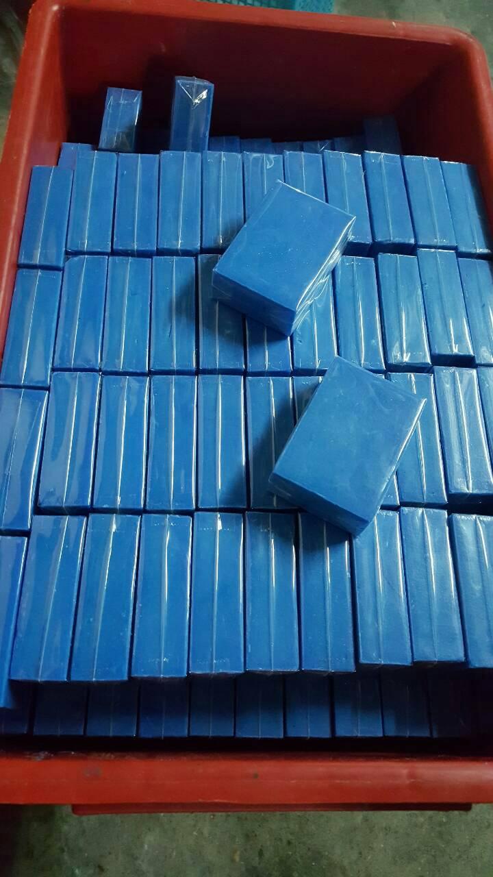 สบู่ผิวขาว บลูออร่า (BLUE AURA SOAP) เห็นผลภายใน 1 ก้อน