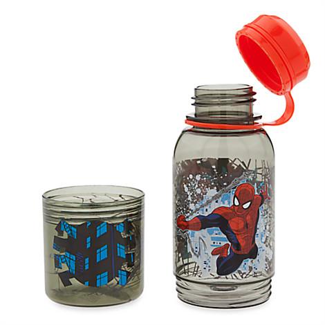 กระติกน้ำพร้อมที่ใส่ขนม Spider-Man Snack Bottle ดิสนีย์ [USA][np]