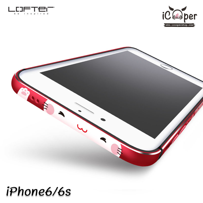 LOFTER Meow Bumper - Red (iPhone6/6s)