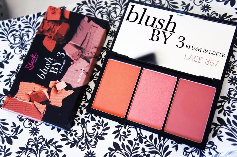 #Sleek blush by 3 palette 20g