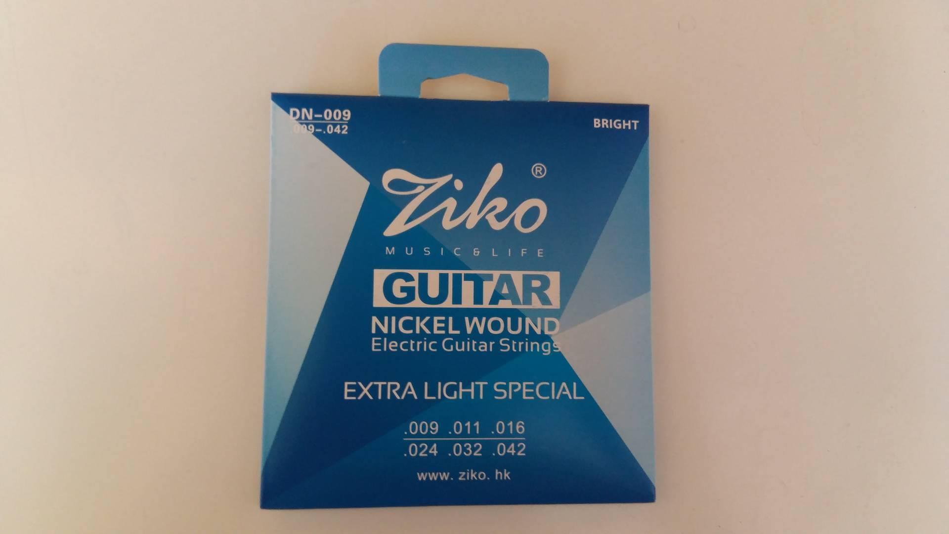 สายกีตาร์ไฟฟ้า ZIKO No.09