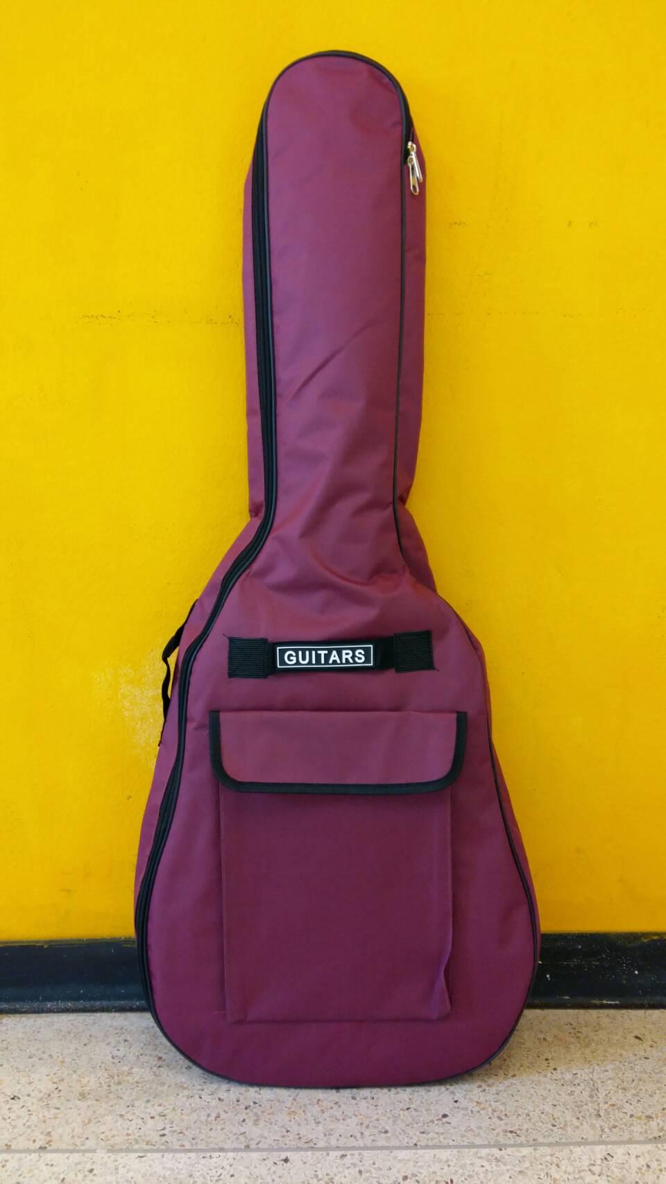 กระเป๋ากีตาร์บุฟองน้ำ สีม่วง ขนาด 41 นิ้ว