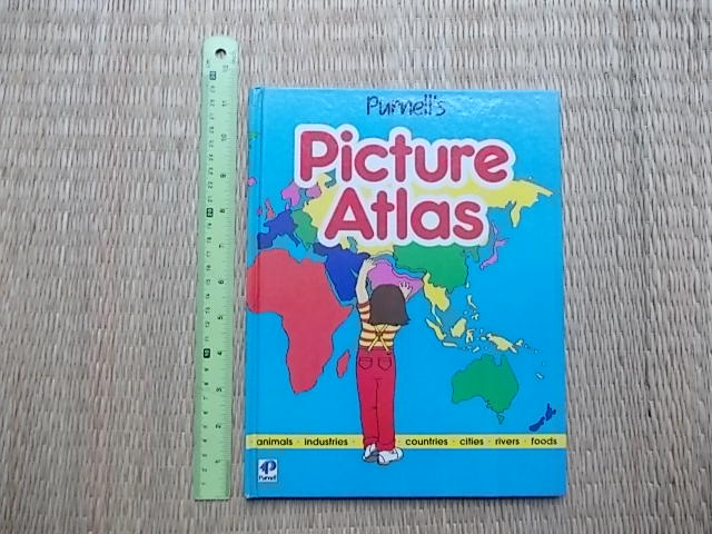 Purnell's PICTURE ATLAS By Paul Martin Hardback 45 Pages ราคา 170