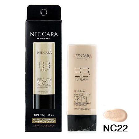 NEE CARA Instant Oil-Absorbing Coverage Cream NC22