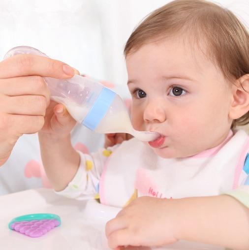 ช้อนซิลิโคนป้อนอาหาร Silicone Feeder ช้อนเด็ก ช้อนทารก
