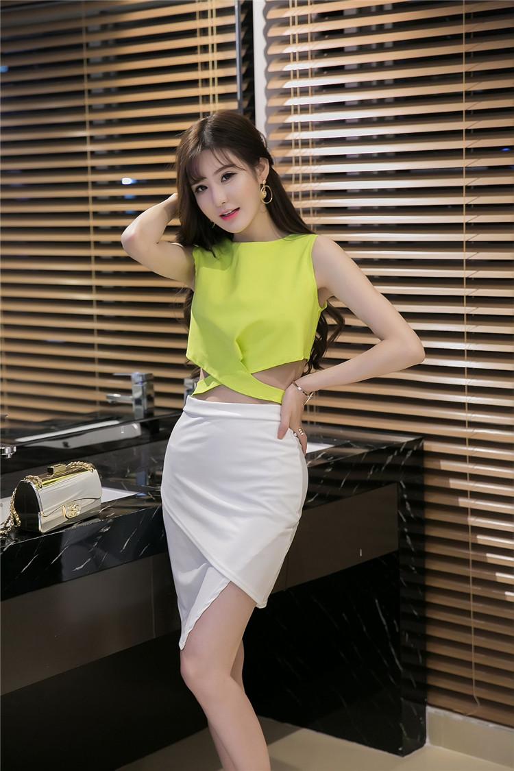 ชุดเซ็ทแฟชั่นเกาหลีสีเขียว