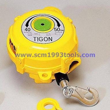 Tigon ไทกอน รุ่น TW-50 สปริงบาลานเซอร์ รอกสปริง 40.0-50.0 kg. Spring Balancer