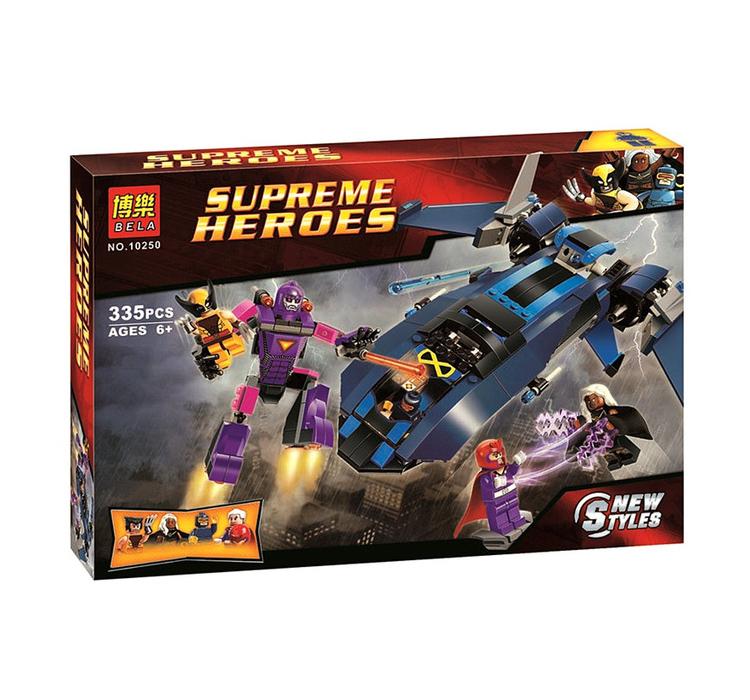 10250 ตัวต่อ X-Men vs The Sentinel รวมพลังต่อสู้กับหุ่นเซ็นติเนล