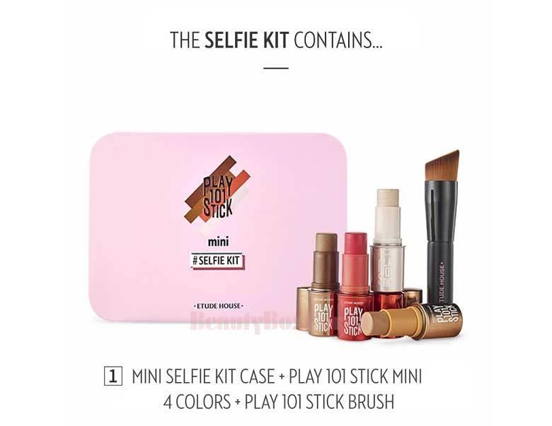 EtudeHouse Play 101 Stick Mini Selfie Kit 5 Items