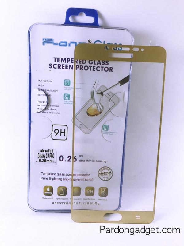 ฟิล์มกระจกเต็มจอ C9 Pro สีทอง