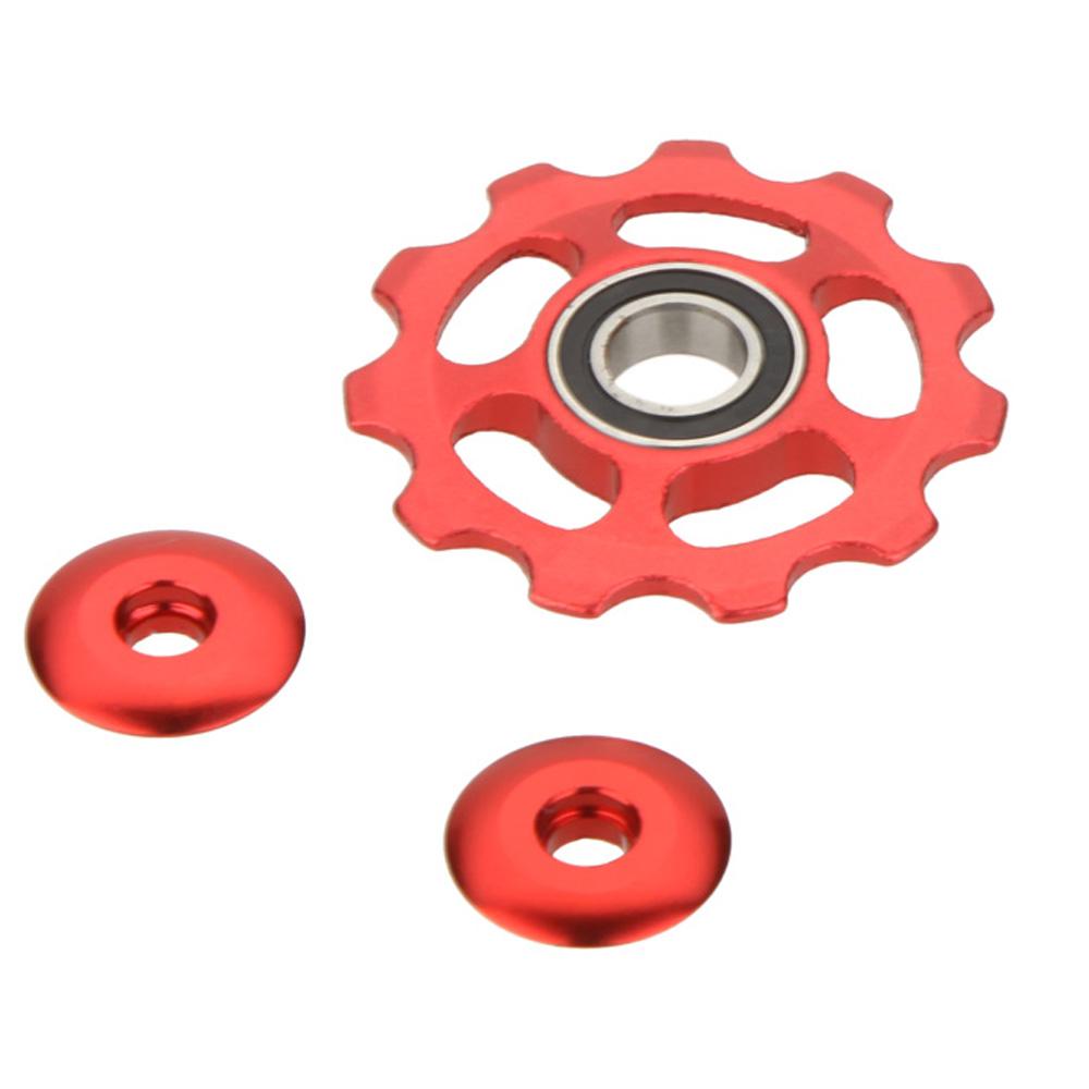 ลูกรอกตีนผี 11t Seal Bearing (สีแดง)