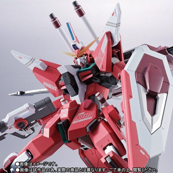 เปิดจอง Metal Robot Damashi Side MS - Infinity Justice Gundam TamashiWeb Exclusive (มัดจำ 1500 บาท)